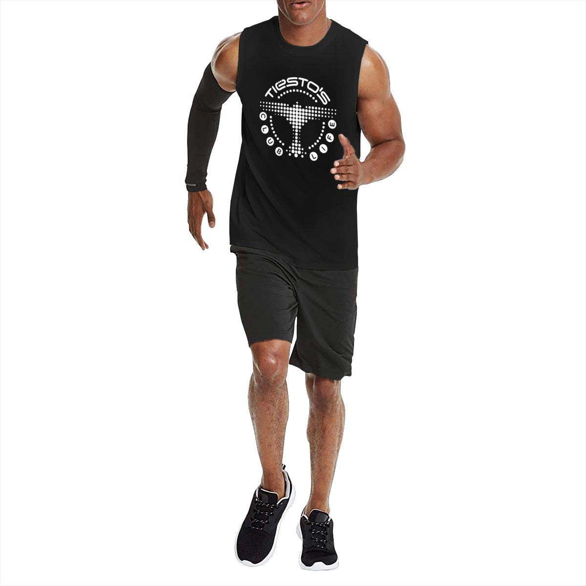 Seuriamin Tiesto Launches The Clublife in Ear Men Casual Hiking Short Sleeve T-Shirt