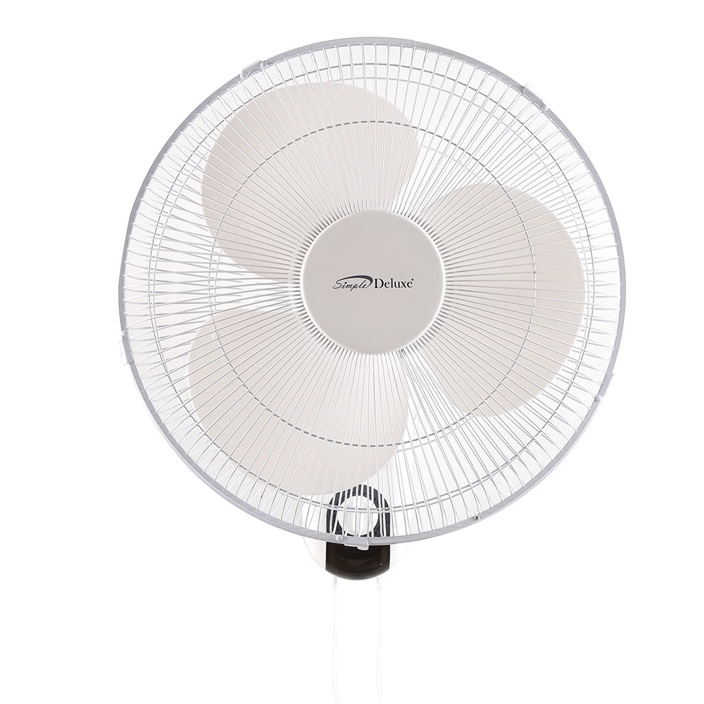 Quiet Wall Mount Industrial Fan : Simple deluxe heavy duty quiet stainless inch wall