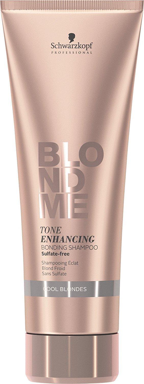 Schwarzkopf Professional BlondMe Cool Blondes Tone Enhancing Bonding Shampoo 250ml