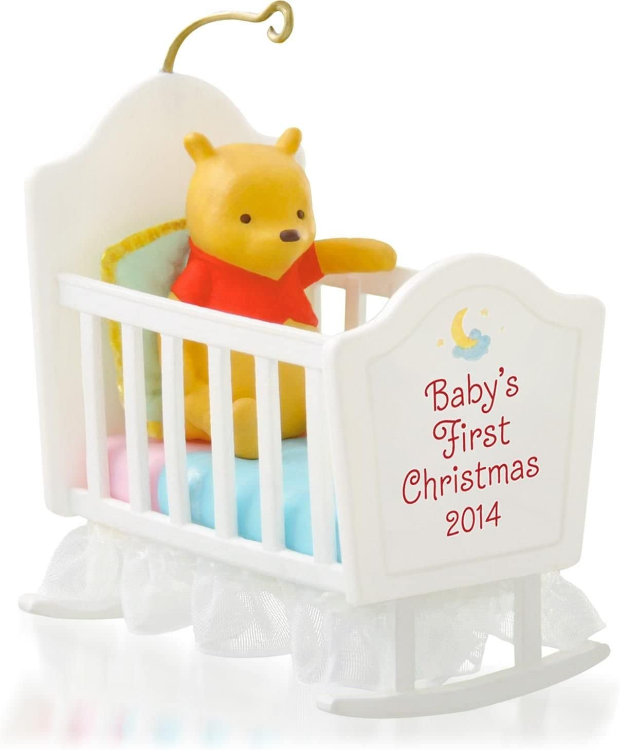 Hallmark 2014 Baby's First Christmas Winnie The Pooh Ornament