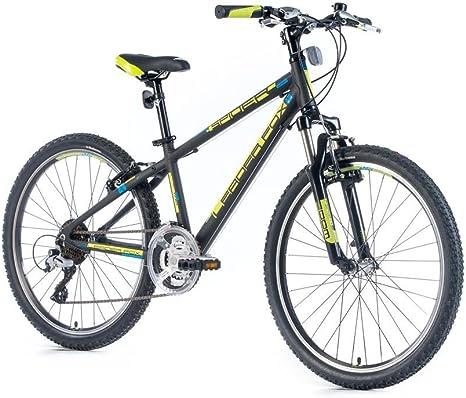 Leader Fox 24 pulgadas aluminio Spider Boy MTB Shimano Bicicleta ...