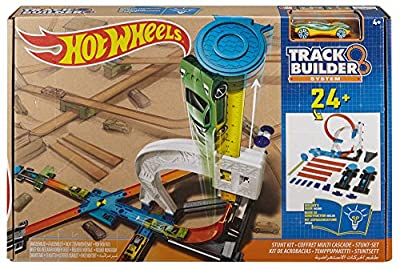Hot Wheels Track Builder Starter Kit Playset | Building Toys