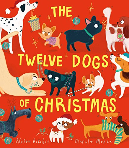 Funny Christmas Puppy - The Twelve Dogs of Christmas