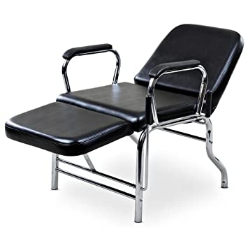 Icarus u0026quot;Ligeru0026quot; Black Reclining Salon Sh&oo Chair ...  sc 1 st  Amazon.com : salon reclining chairs - islam-shia.org