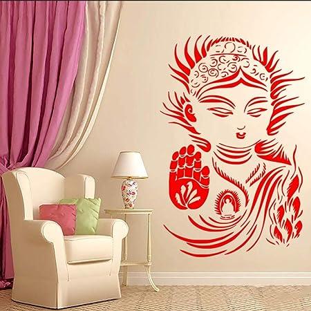 Geiqianjiumai Zen Budismo Yoga Meditación Tatuajes de Pared Mural ...