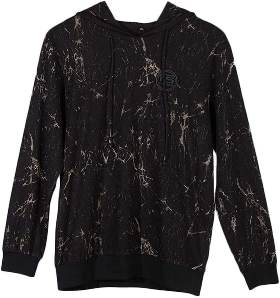 SCHWARZ 2XL DAFREW Men's Hoodies, Mode-Muster Langarm-Pul r, Frühling und Herbst Casual Comfort T-Shirt (Farbe   SCHWARZ, größe   3XL)
