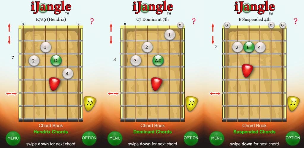 iJangle Acordes de guitarra - Diccionario acorde de la guitarra ...
