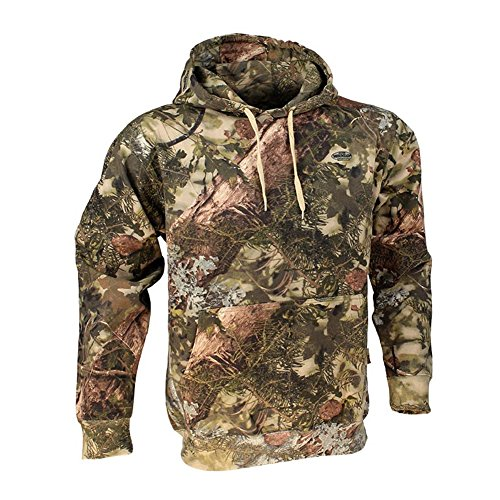 - King's Camo Cotton Hunting Hoodie, Mountain Shadow, X-Large