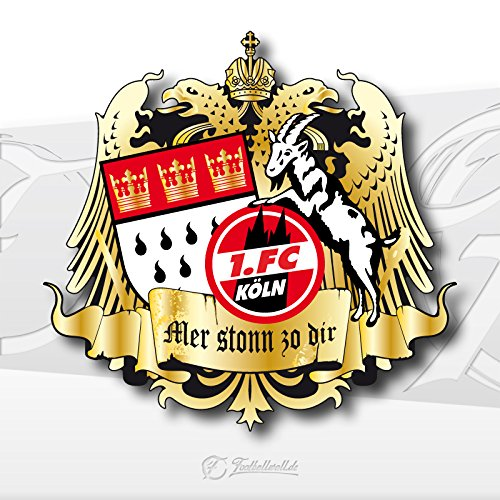 Sticker Aufkleber 20 X 20 Cm Mer Stonn Zo Dir 1 Fc Köln