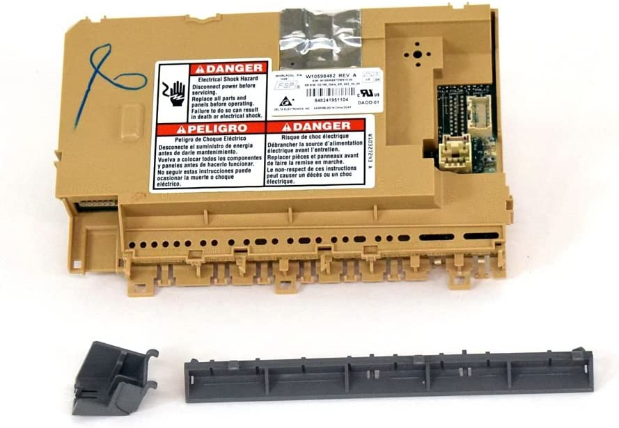 Whirlpool W10866117 Dishwasher Electronic Control Board Genuine Original Equipment Manufacturer (OEM) Part