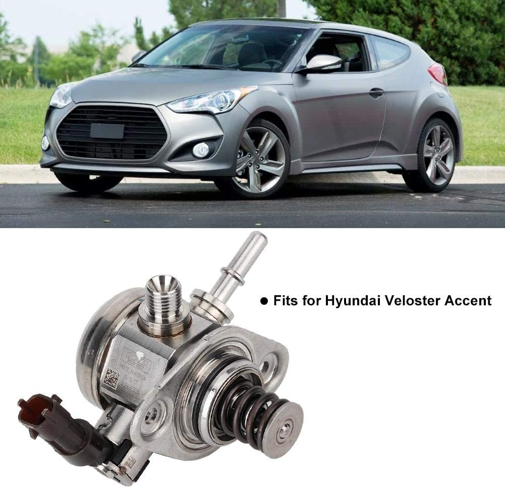 Terisass High Pressure Fuel Pump 353202B220 OEM High Pressure Injection Fuel Pump Fits for Hyundai Veloster Accent for Kia Forte Koup Soul Rio 1.6L 35320-2B220