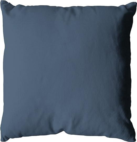 Enjoy Home cojín 60 x 60, 720 g algodón Azul Jean 60 x cm: Amazon.es: Hogar