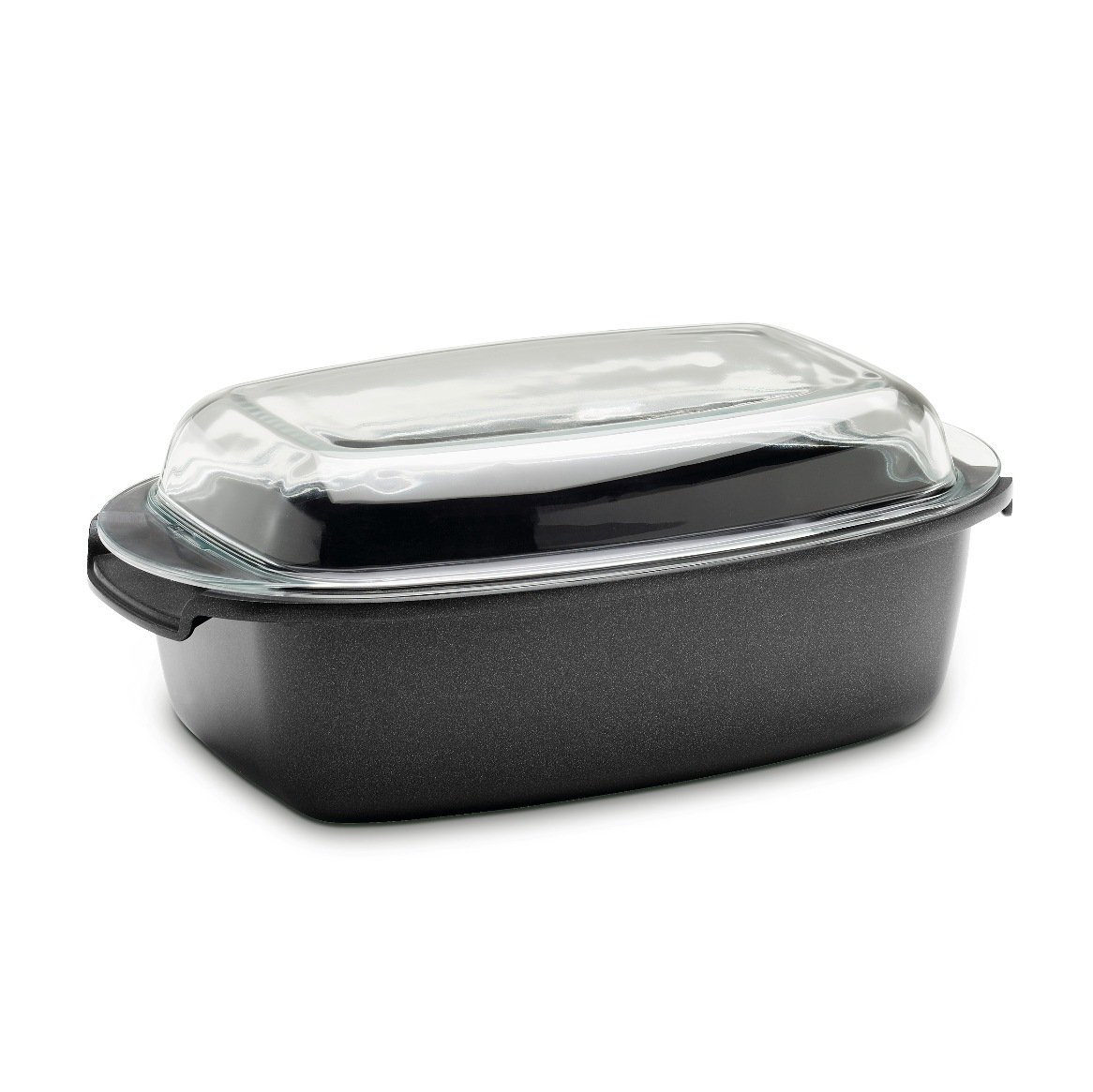 Berndes 695964 SignoCast Multi-Purpose Roaster with Glass Lid, 13 Inches by 8.5 Inches