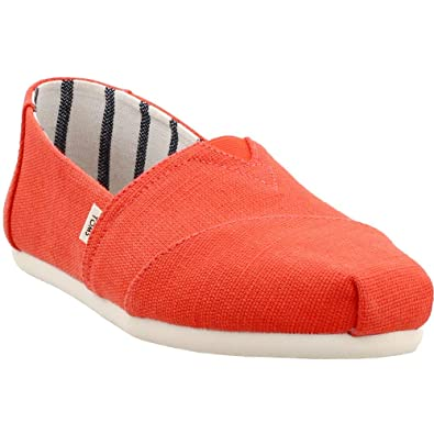 1a62fbb7c328f Amazon.com | TOMS Womens Alpargata Casual Slip-Ons Red | Fashion ...