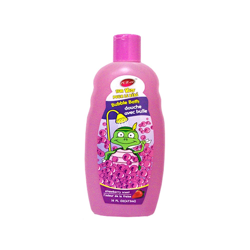 Purest Kids Bubble Bath With Strawberry Scent(473ml) 309437