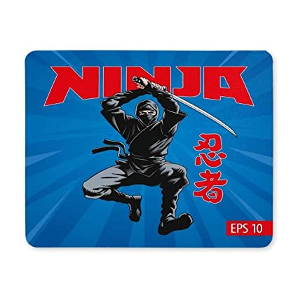 Amazon.com : BGLKCS Gaming Mouse pad, Mouse Pad Ninja ...