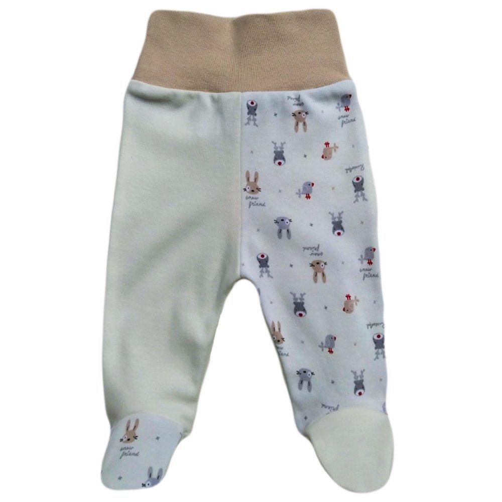 Baby Hose mit fu/ß M/ädchen Baby Hose mit fu/ß Jungen MEA BABY Unisex Baby Hose mit Fu/ß Baby Strampelhose mit Fu/ß 5er Pack