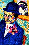 Robert Delaunay_Man-With-A-Tulip-Also-Known-As-Portrait-Of-Jean-Metzinger Laminated Poster Print 24 x 36     We stand behind our products and services to deliver to your doorsteps within the promised delivery window. We appreciate your busine...