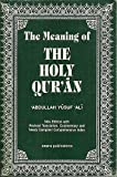 The Meaning of the Holy Quran, , 0915957558