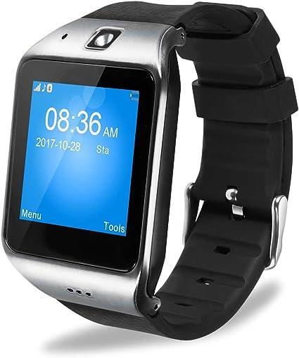 Amazon.com: EasySMX LG118 - Reloj inteligente Bluetooth con ...