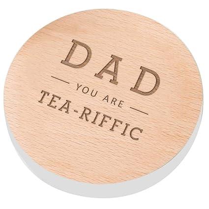 Dad You Are Tea Riffic Coaster