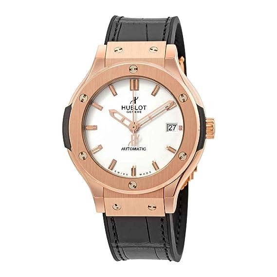 Hublot clásico fusión Dial Blanco Automático Unisex Reloj 565ox2610lr: Amazon.es: Relojes