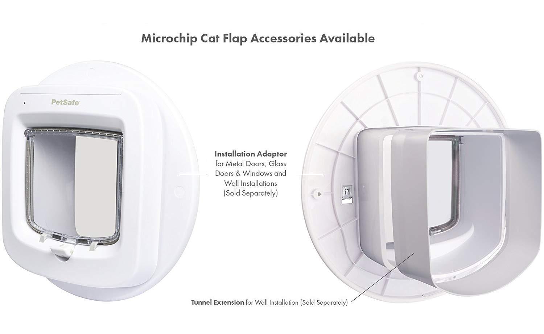 Amazon Petsafe Microchip Cat Door Installation Adaptor Easy