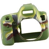 MagiDeal Carcasa Caja de Càmara de Silicona Cubierta para Canon EOS 6D Accesorios Multiusos