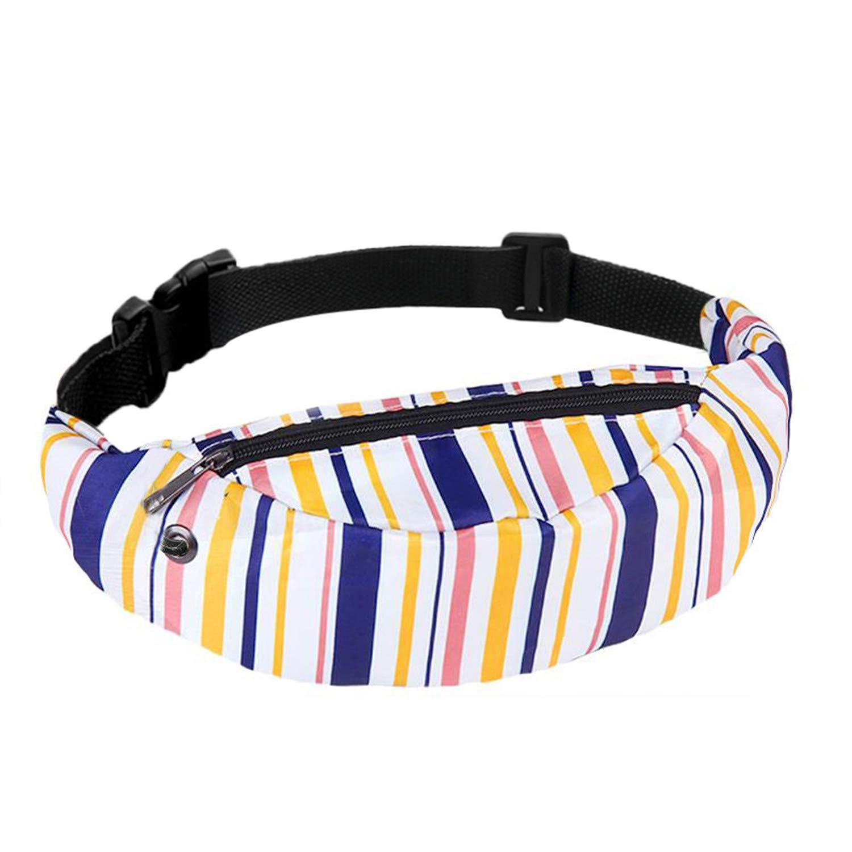 Women Waist Bag Colorful Waterproof Travel Fanny Pack Belt Bag Mobile Phone Bags Waist Pouch Money Bag Handbags Female Clearance