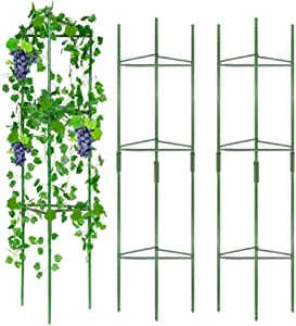 Emerging Green 3 Tower Tomato Cages for Garden| Plant Cages and Supports for Outdoor Plants| Tomato Plant Support