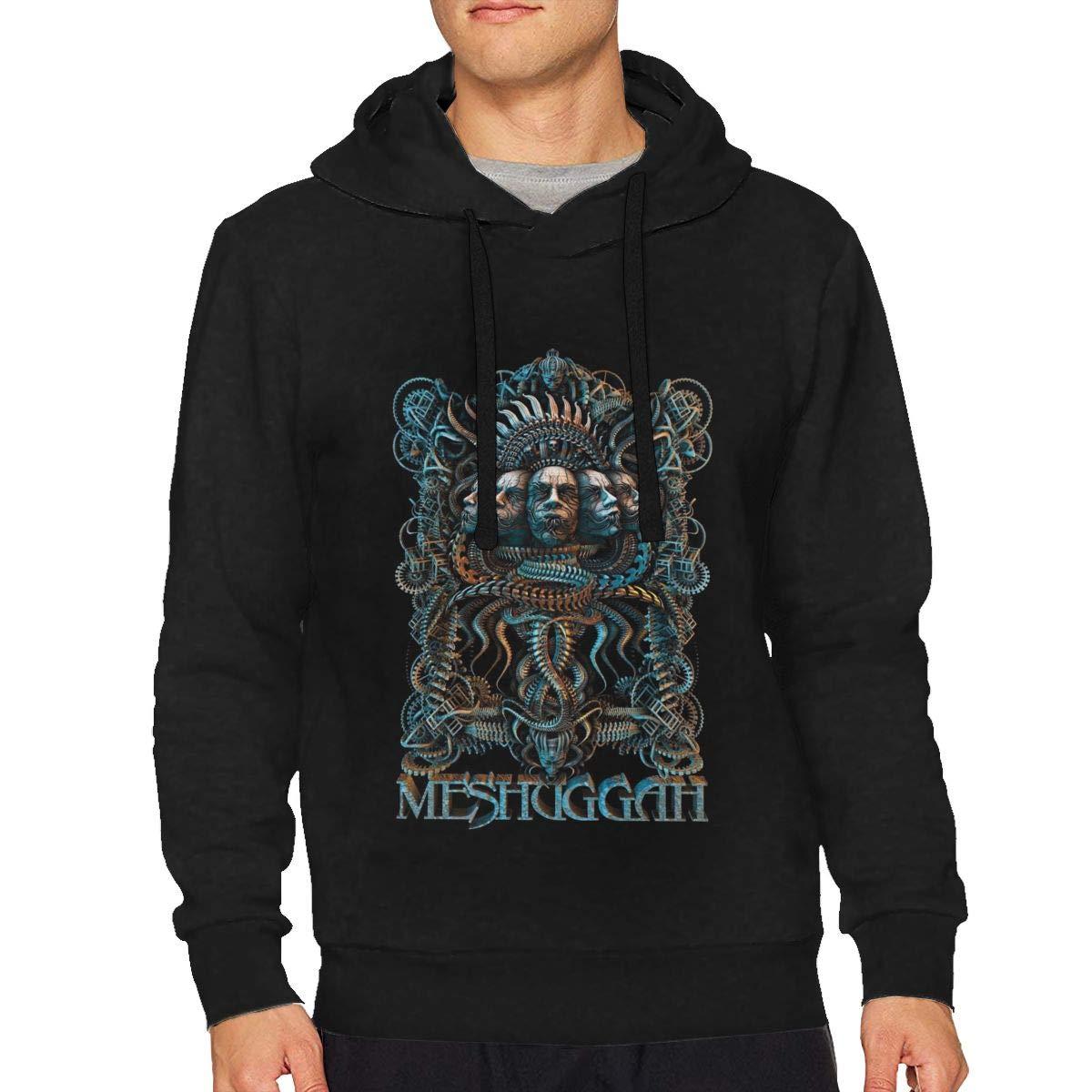 AntoinetteJackson Men's Hoodie Tops for Man Black Sweatshirt