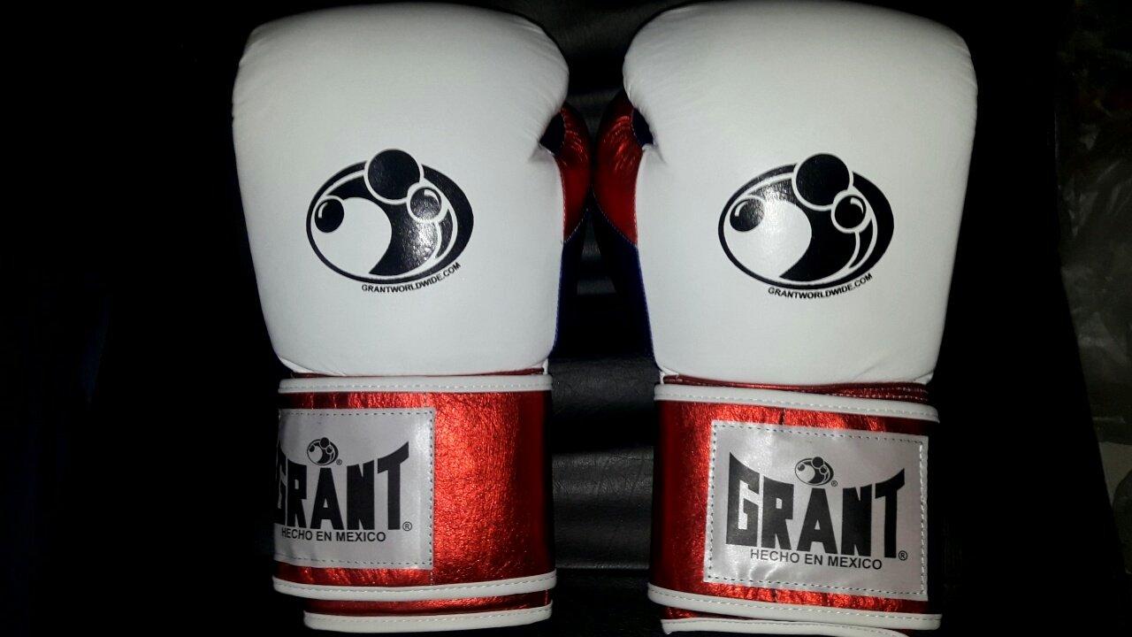 New Customized Grant Boxing Gloves 16/oz winning rays mayo thaye GOLDENWAVE