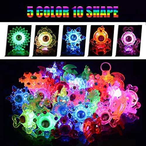 Amazon.com: Mikulala - Anillos de luz LED para fiestas de ...