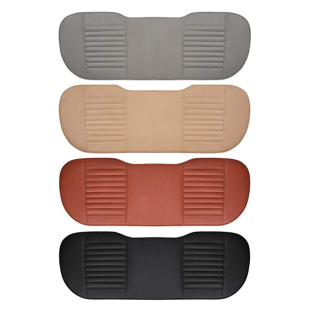 Leslaur Universal Car Seat Cover Pad Anti-Rutsch-Auto Interior Sitzkissen Pad Mat Four Seasons Allgemeine Bambuskohle Atmungsaktive Sitzbezug