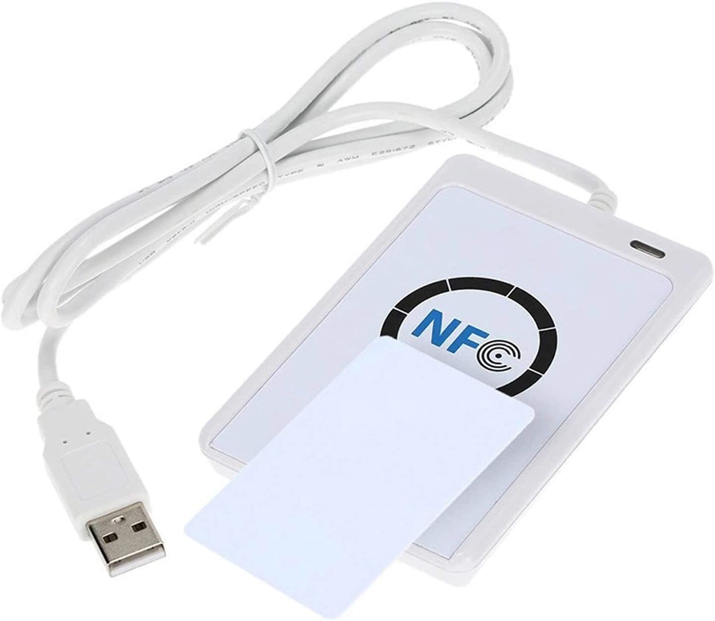 Loijon NFC RFID Intelligent Card Reader Writer Copier Duplicator Writable Clone Software USB S50 13.56MHz Contactless Read and Write Device