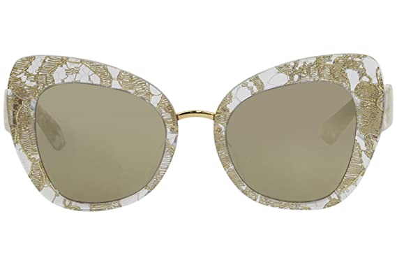 a5a857372291 Amazon.com  Sunglasses Dolce and Gabbana DG 4319 F 31535A GOLD LACE   Clothing