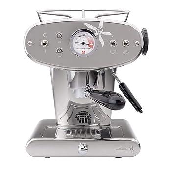 X1 MIE - Máquina de café espresso, color plateado