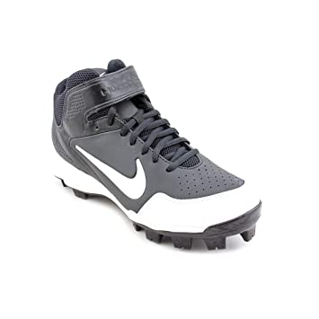 Nike Air Huarache 2K Fresh MCS Mens Baseball Cleats - Black/White-9.5