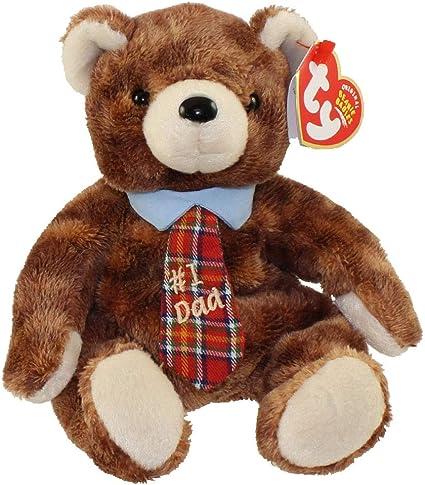 7.5 inch TY Beanie Baby PAPPA 2004 the Bear - MWMTs Stuffed Animal Toy