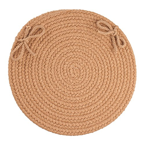 Solid Chair Pad, Camel