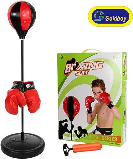 Amazon.com: Goldboy - Saco de boxeo para niños, saco de ...