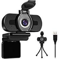Larmtek 1080p Full Hd Webcam with Webcam Cover,Computer Laptop Pc Mac Desktop Camera for Conference and Video Call,Pro…