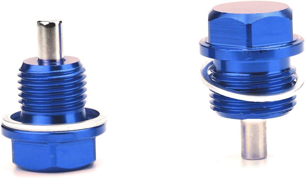 Magnetic Oil Drain Plug Magnetic Sump Drain Nut Oil Drain Bolt M16x1.5,Black