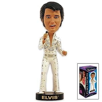 Elvis Bobblehead Negro Piel '68 Comeback Spéciale L4q1LWzP