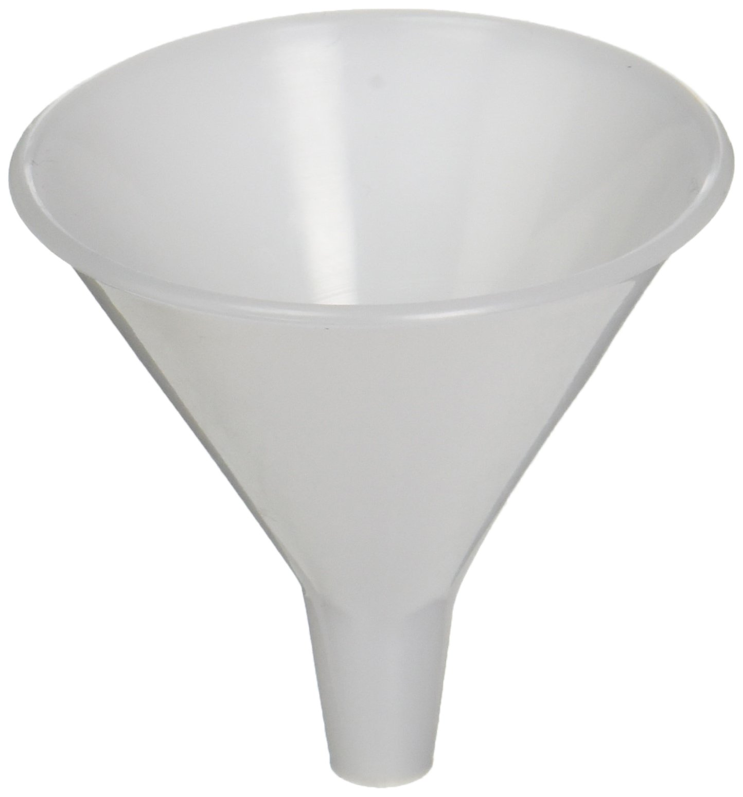 United Scientific FHD165 High Density Polyethylene Clear Short Stem Funnels, 65ml Capacity (Pack of 12)