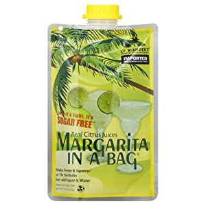 Lt. Blender's Frozen Concoctions, Sugar Free Margarita in a Bag, 0.74-Ounce Pouch