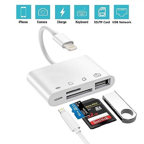Lector de cámara de Tarjeta SD - Kit de conexión de cámara ...