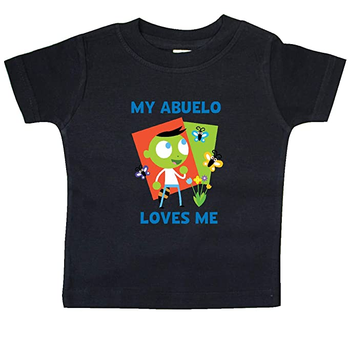 Amazon.com: inktastic - My Abuelo Loves me with Del Baby T ...