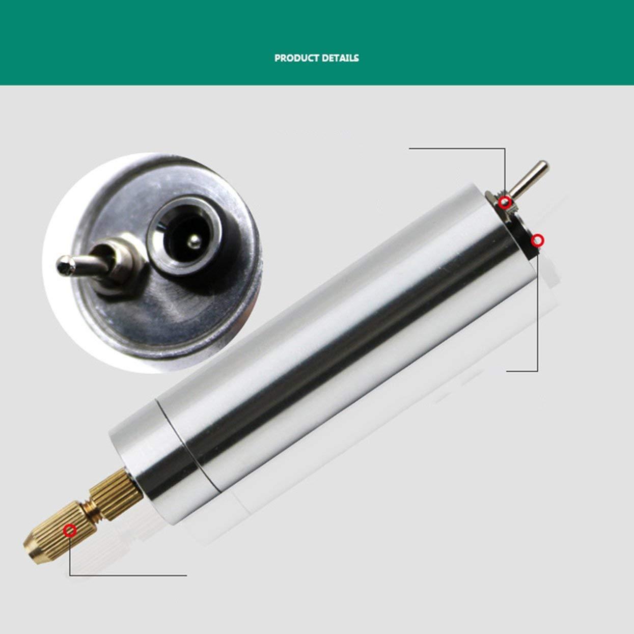 Silber 19 teile//satz Mini Elektrische Gravur Carving Mei/ßel Stift Set Elektrowerkzeug Zubeh/ör
