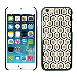 Iphone 6 Case 4.7 Inches, Popular Honeycomb Black Hard Phone Cover Case for Apple Iphone 6